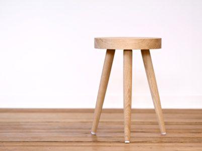 taburet design træ