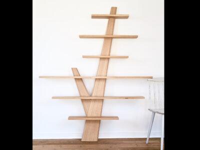 Hylde hylder egetræ design enkel hjuler.design skandinavisk dansk