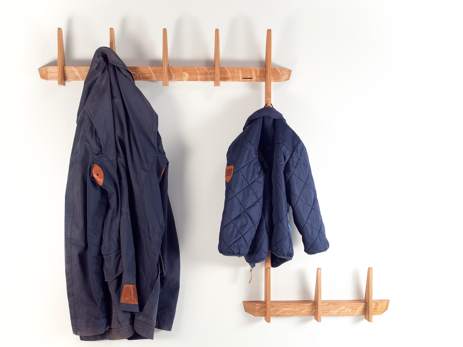 The coat rack tree in oak wood by Hjuler.Design modern Danish Scandinavian design interior nordic living