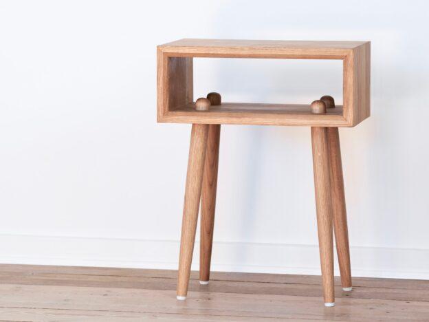 Sengebord natbord olieret egetræ design