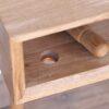 natbord Sengebord olieret egetræ design